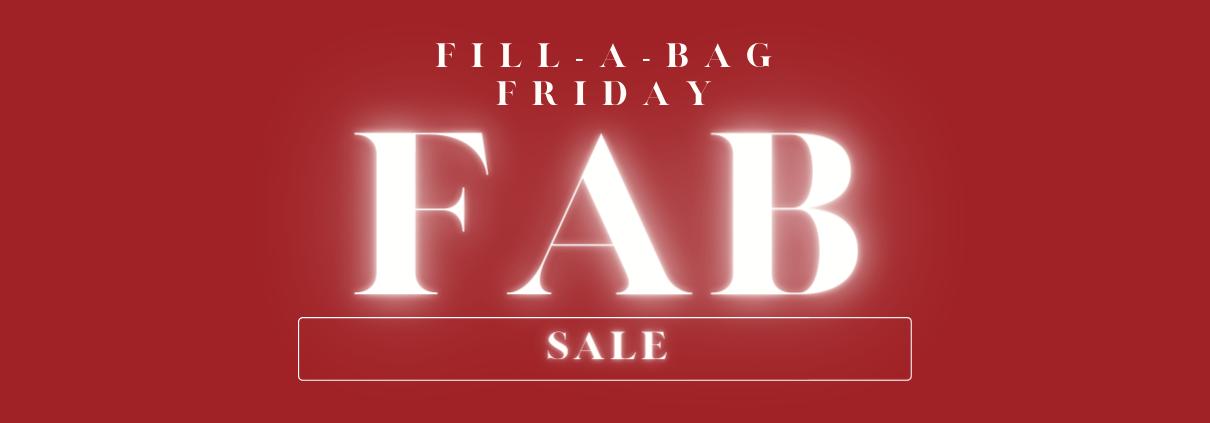 FAB Friday Sale